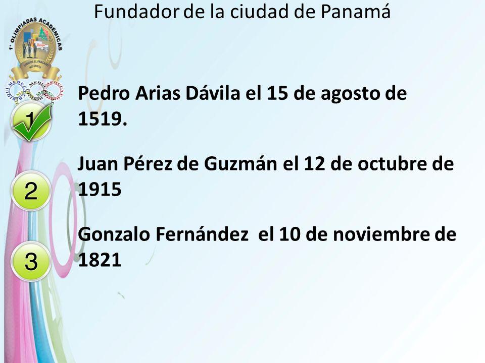 Fundador de la ciudad de Panamá