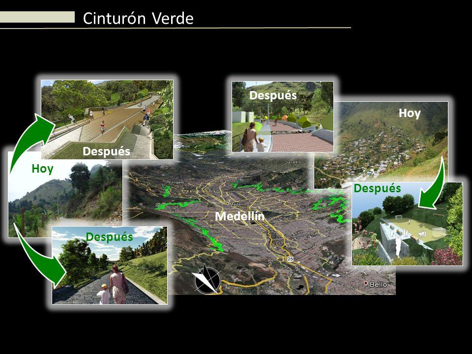Cinturón Verde Hoy Después Medellín