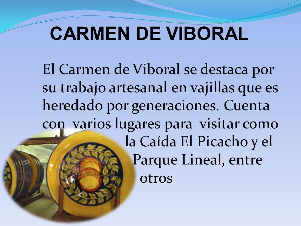 CARMEN DE VIBORAL