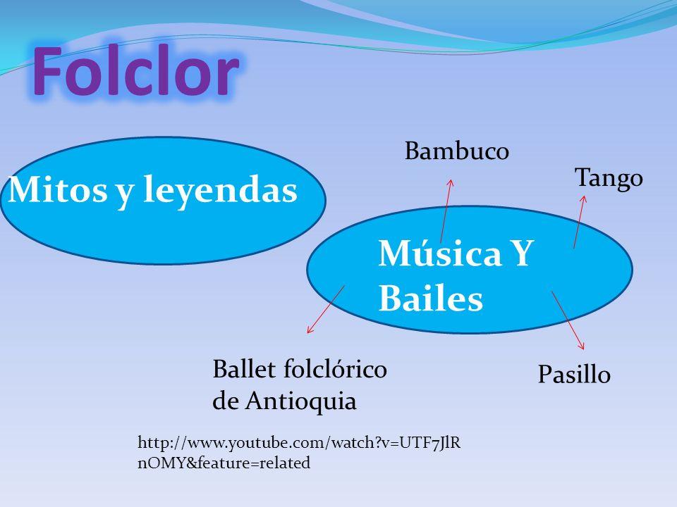 Folclor Mitos y leyendas Música Y Bailes Bambuco Tango