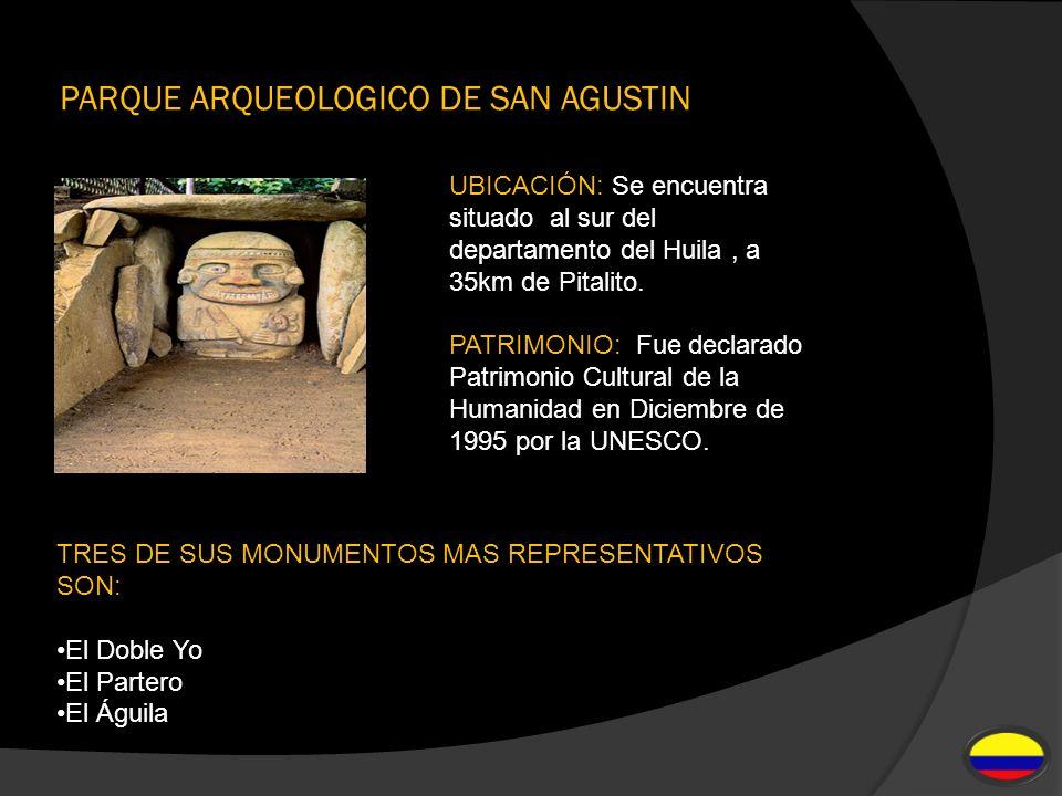 PARQUE ARQUEOLOGICO DE SAN AGUSTIN