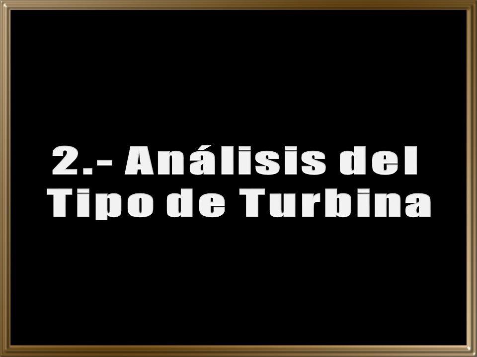 2.- Análisis del Tipo de Turbina