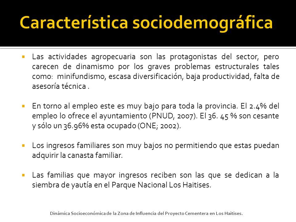 Característica sociodemográfica