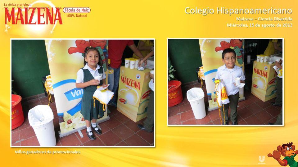 Colegio Hispanoamericano Maizena – Ciencia Divertida
