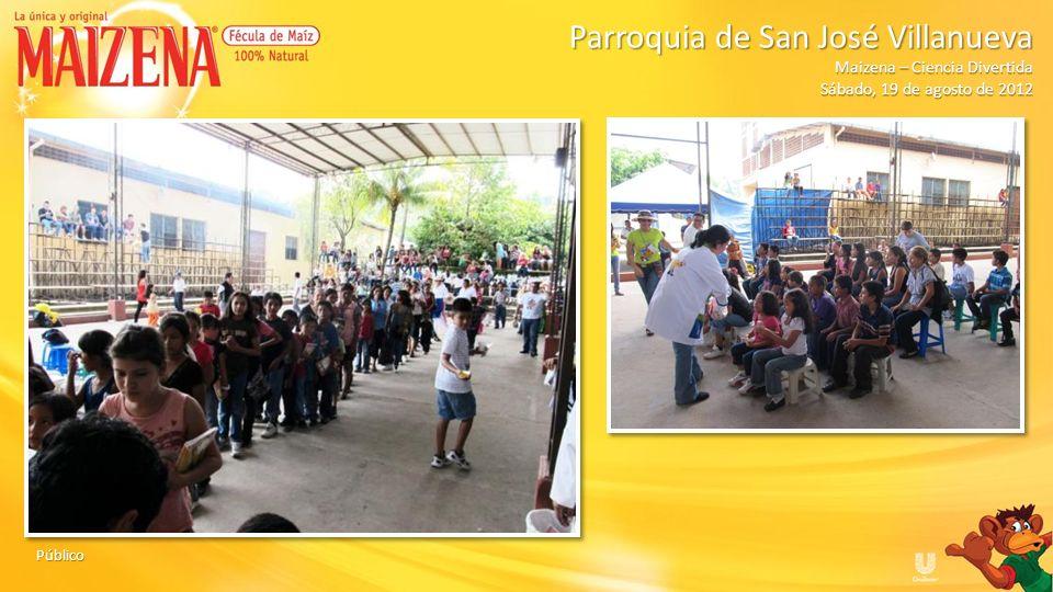 Parroquia de San José Villanueva Maizena – Ciencia Divertida