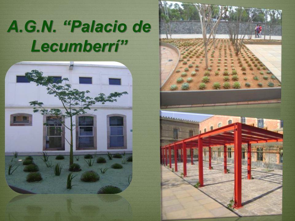 A.G.N. Palacio de Lecumberrí