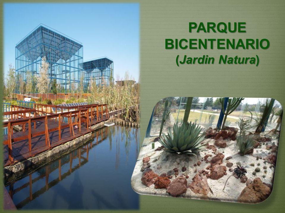 PARQUE BICENTENARIO (Jardin Natura)