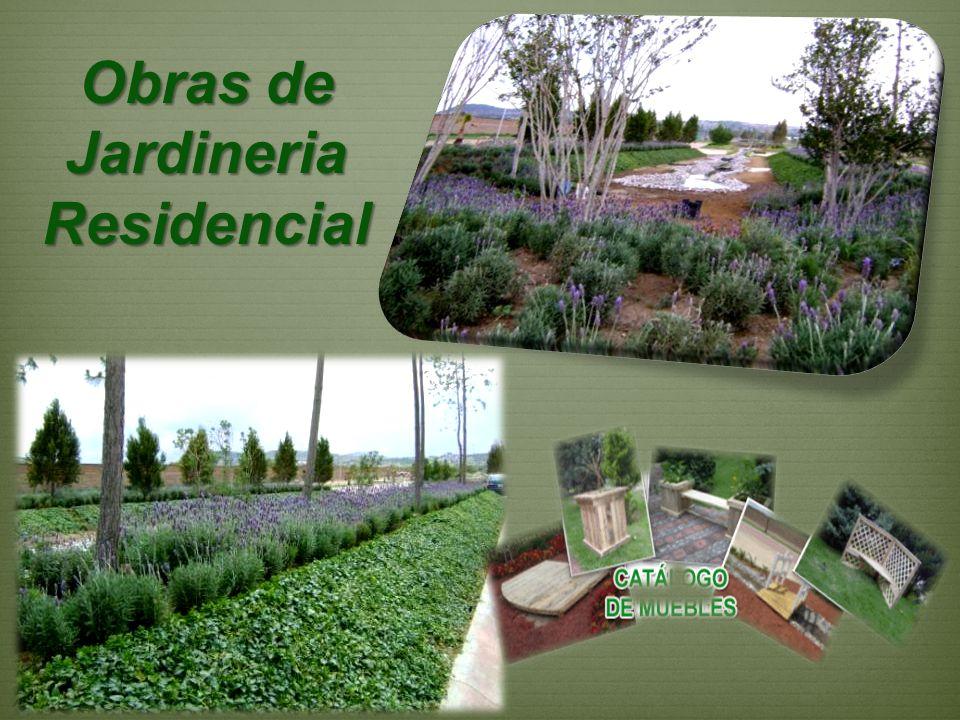 Obras de Jardineria Residencial