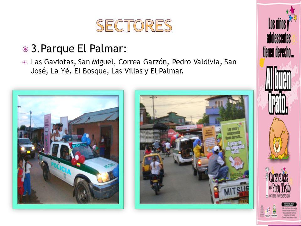 SECTORES 3.Parque El Palmar: