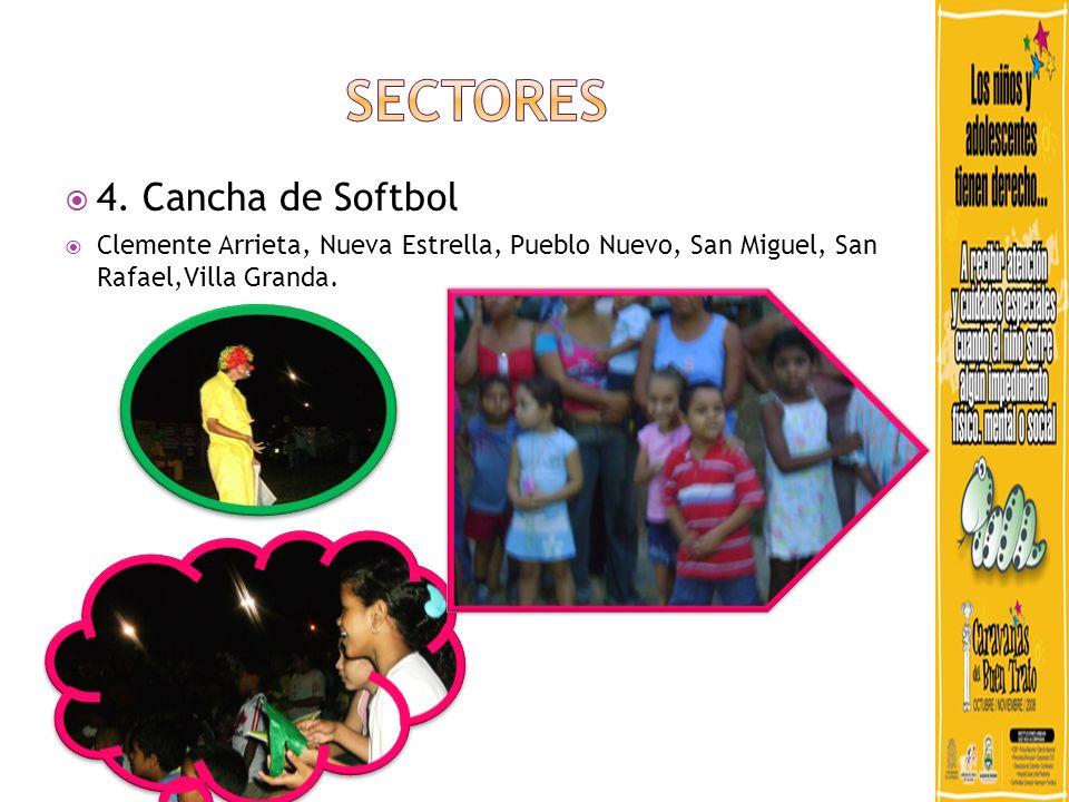 SECTORES 4. Cancha de Softbol