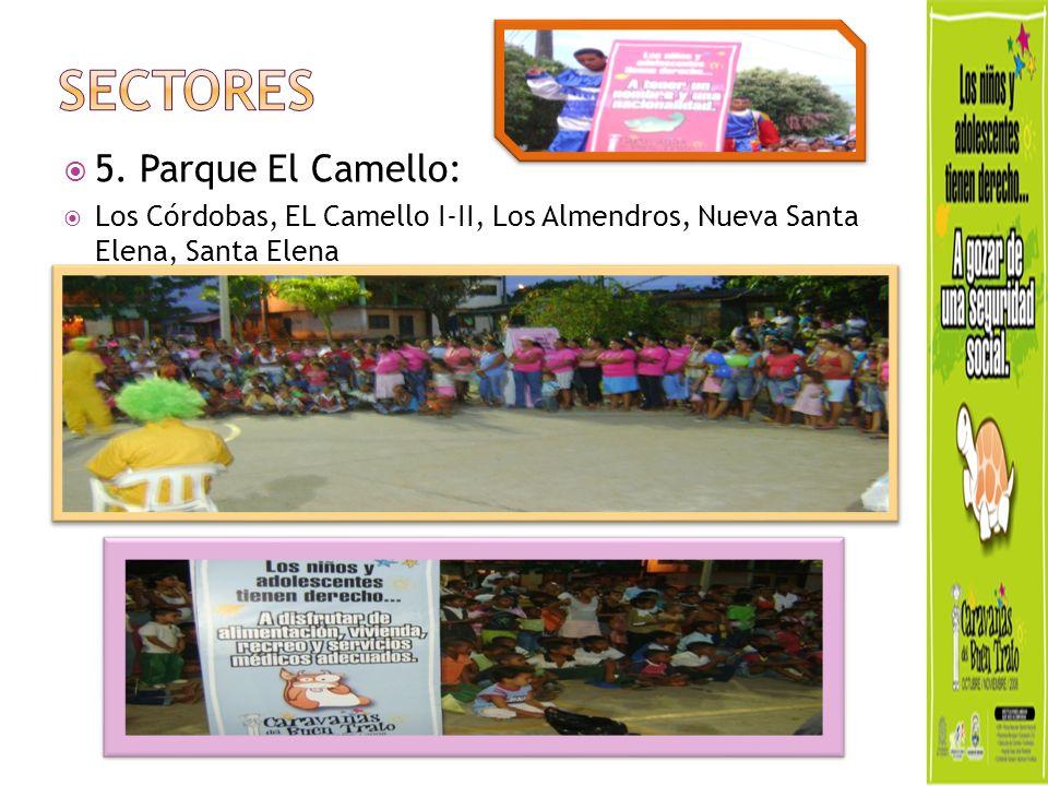 SECTORES 5. Parque El Camello: