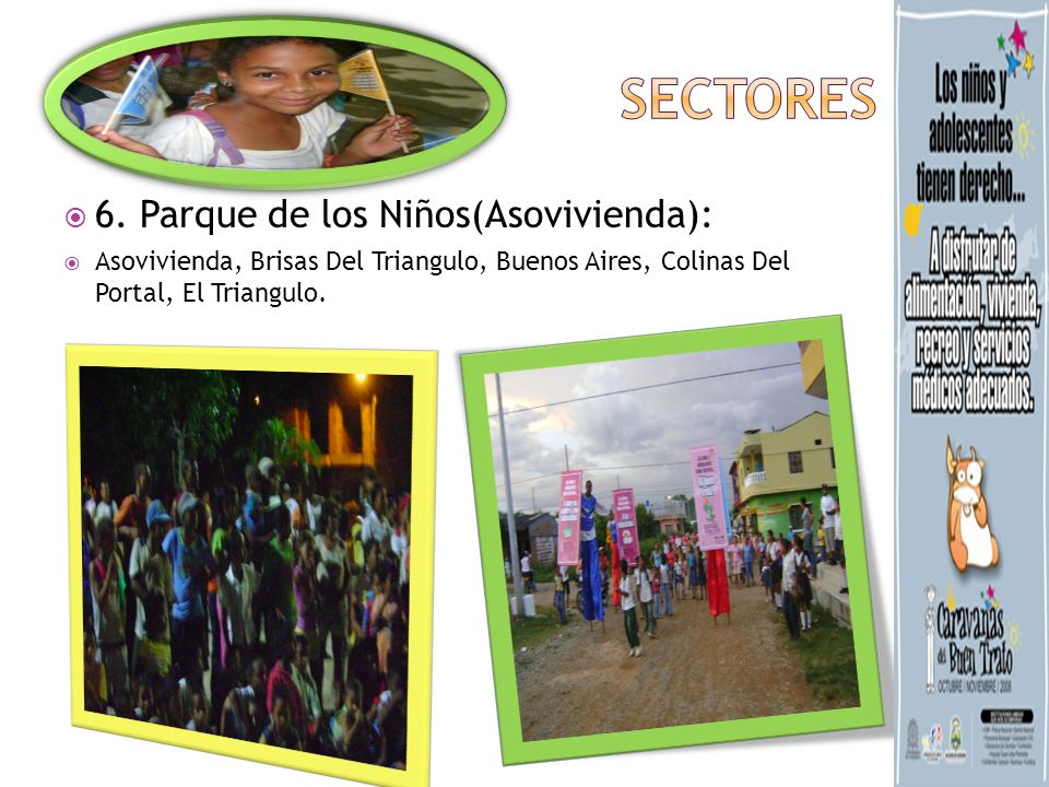 sECTORES 6. Parque de los Niños(Asovivienda):