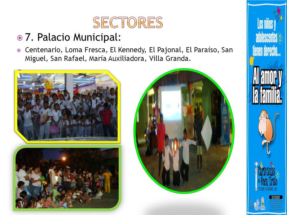 SECTORES 7. Palacio Municipal: