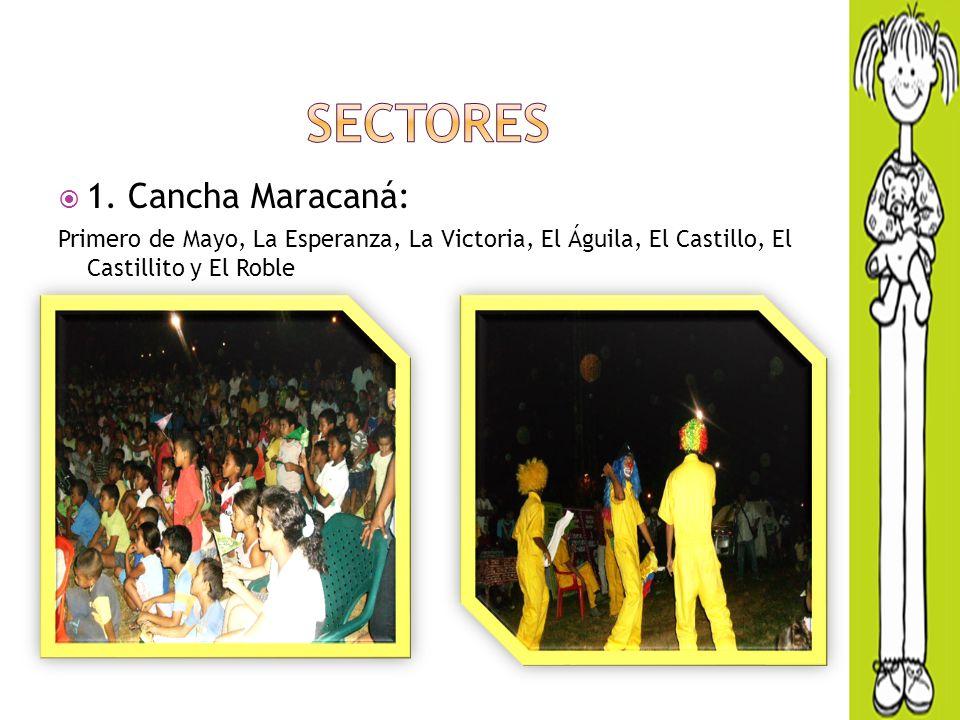 SECTORES 1. Cancha Maracaná: