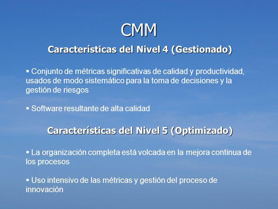 Características del Nivel 4 (Gestionado)