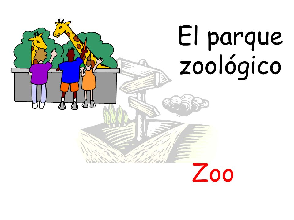 El parque zoológico Zoo