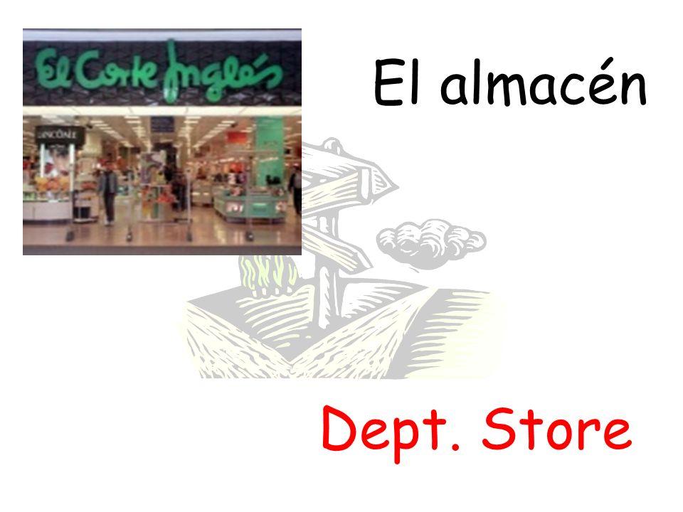 El almacén Dept. Store