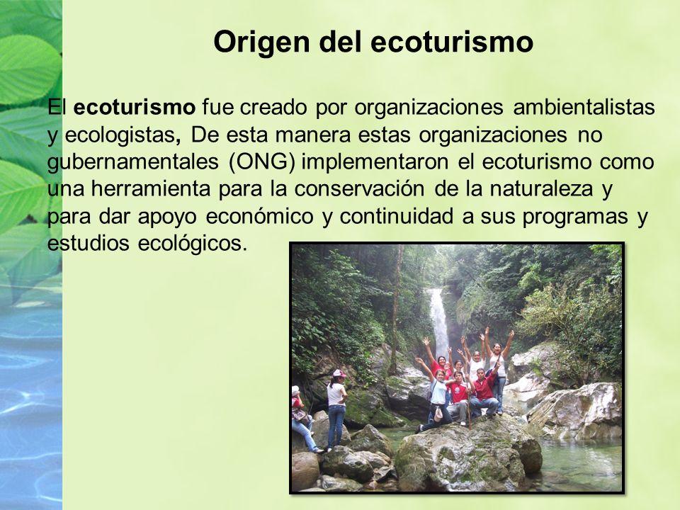 Origen del ecoturismo