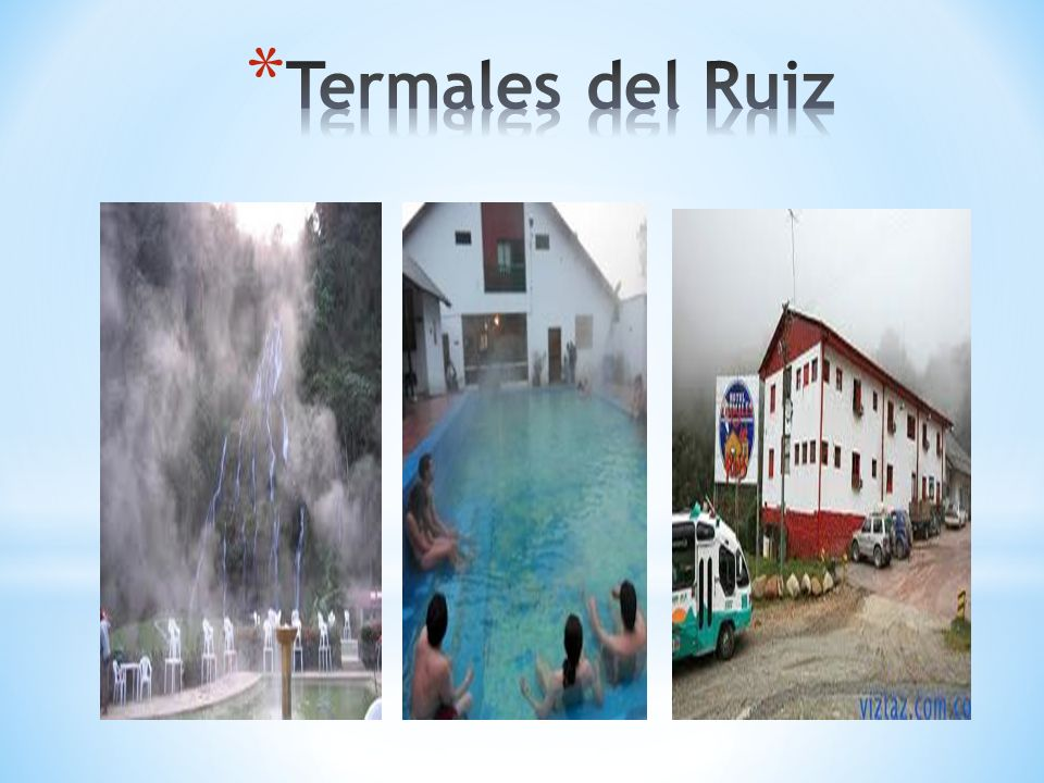 Termales del Ruiz