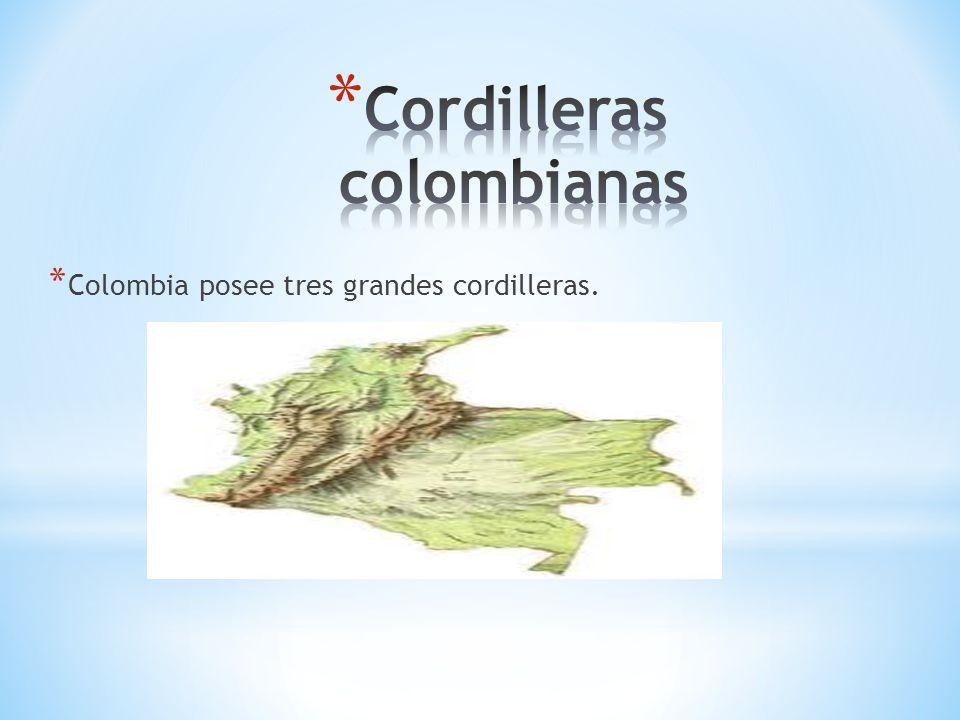 Cordilleras colombianas