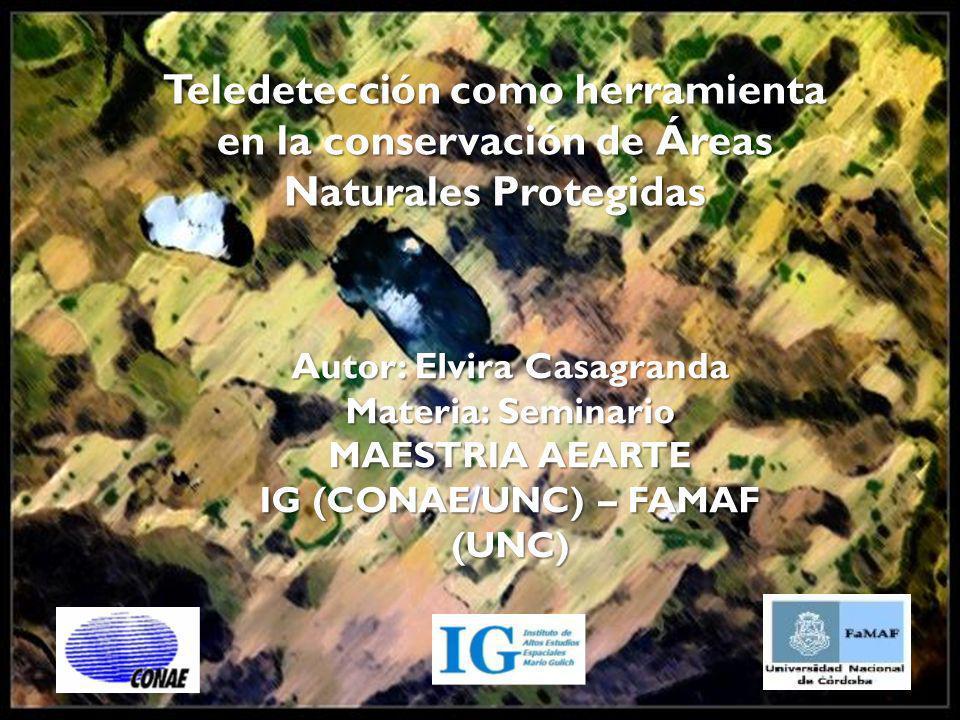 Autor: Elvira Casagranda IG (CONAE/UNC) – FAMAF (UNC)