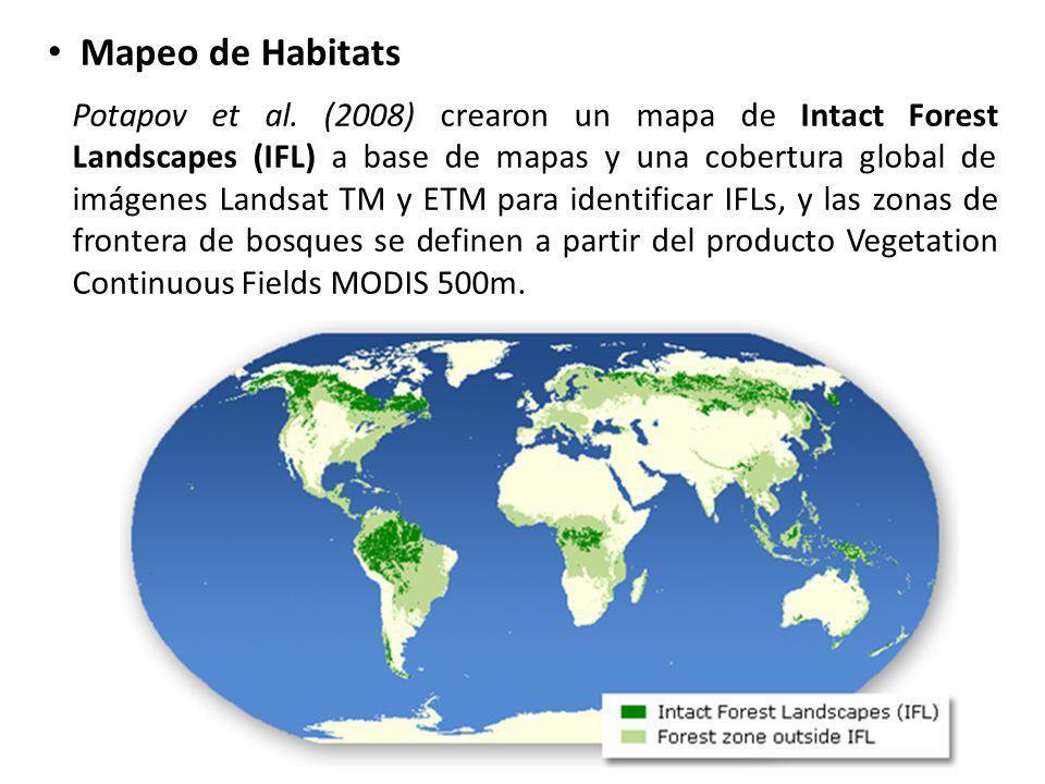 Mapeo de Habitats