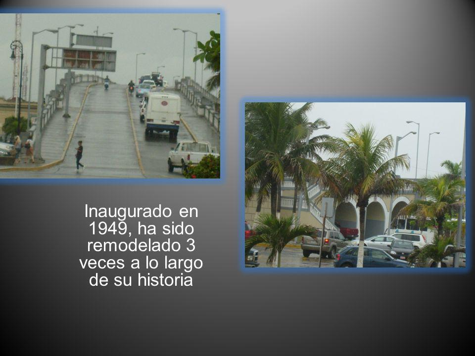 Inaugurado en 1949, ha sido remodelado 3 veces a lo largo de su historia