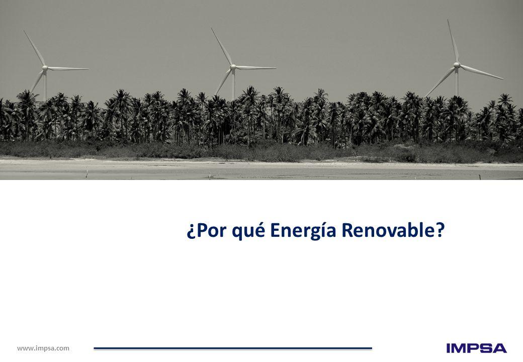 ¿Por qué Energía Renovable