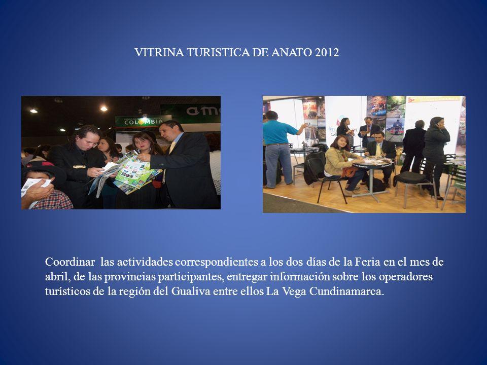 VITRINA TURISTICA DE ANATO 2012