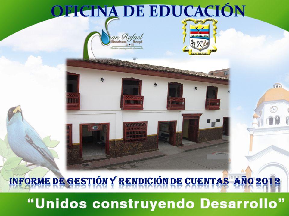 INFORME DE GESTIÓN Y RENDICIÓN DE CUENTAS AÑO 2012