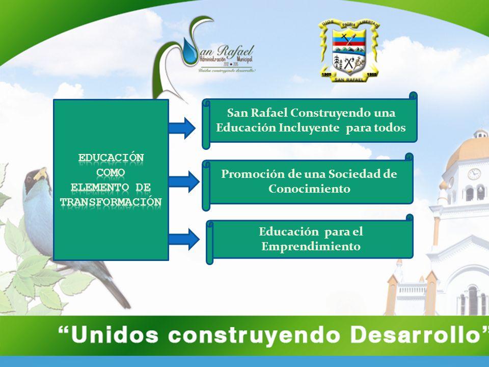 San Rafael Construyendo una Educación Incluyente para todos