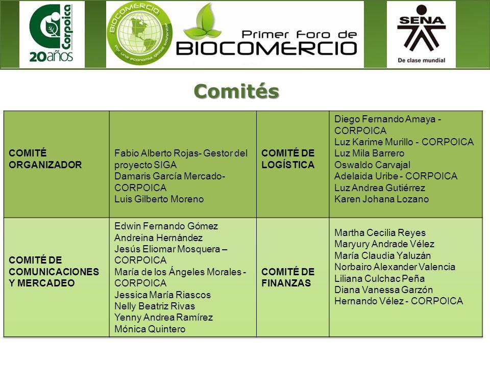 Comités COMITÉ ORGANIZADOR