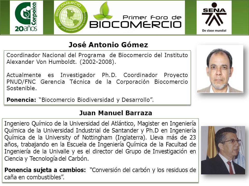 José Antonio Gómez Juan Manuel Barraza