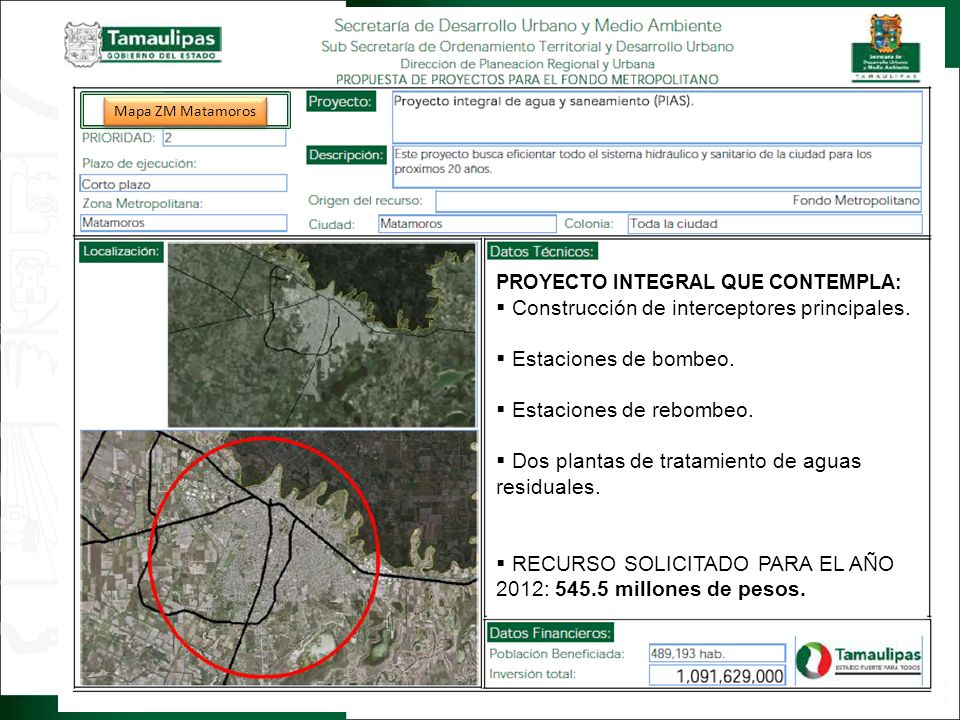 2. IMAGEN OBJETIVO Regresar Construcción de interceptores principales.