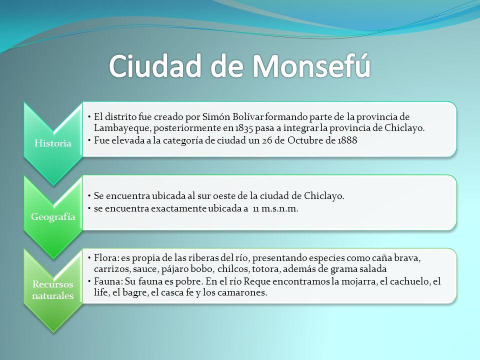 Ciudad de Monsefú Historia
