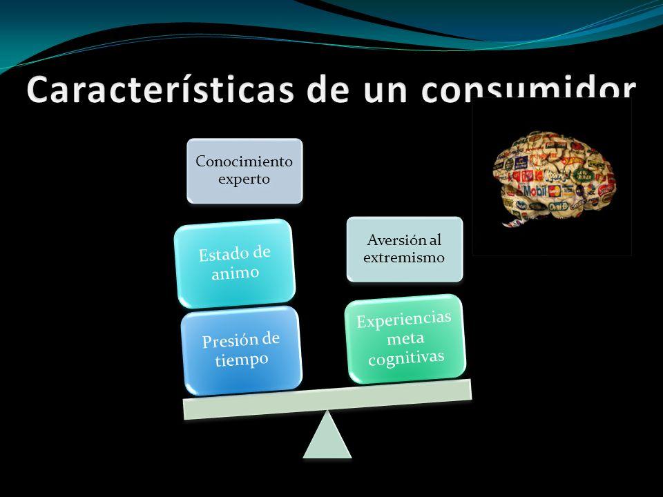 Características de un consumidor