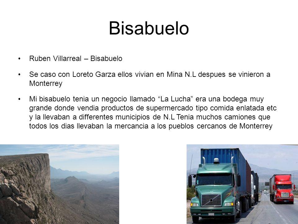 Bisabuelo Ruben Villarreal – Bisabuelo