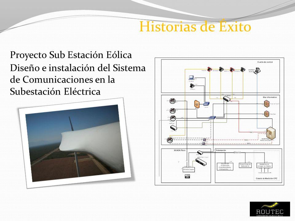 Historias de Éxito Proyecto Sub Estación Eólica