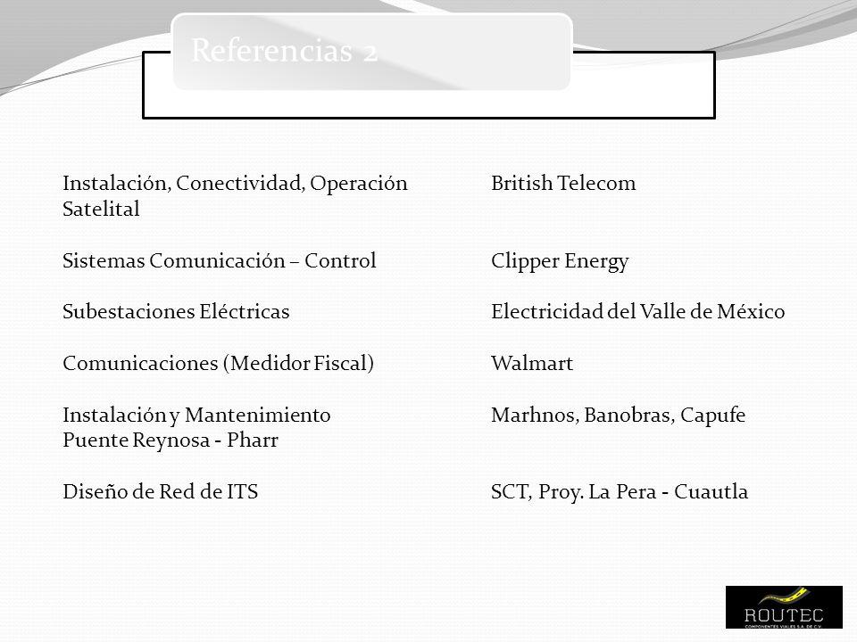 Referencias 2 Instalación, Conectividad, Operación British Telecom