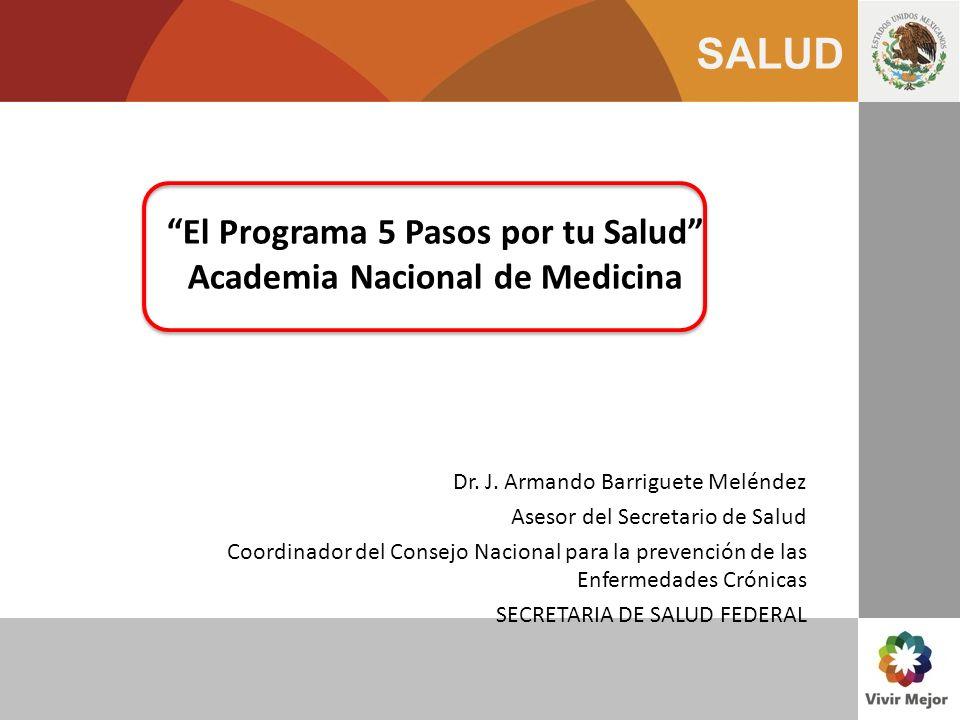 El Programa 5 Pasos por tu Salud Academia Nacional de Medicina