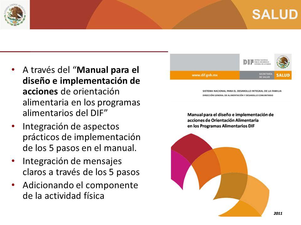 Integración Programa 5 pasos en los Sistemas Estatales del DIF (2)