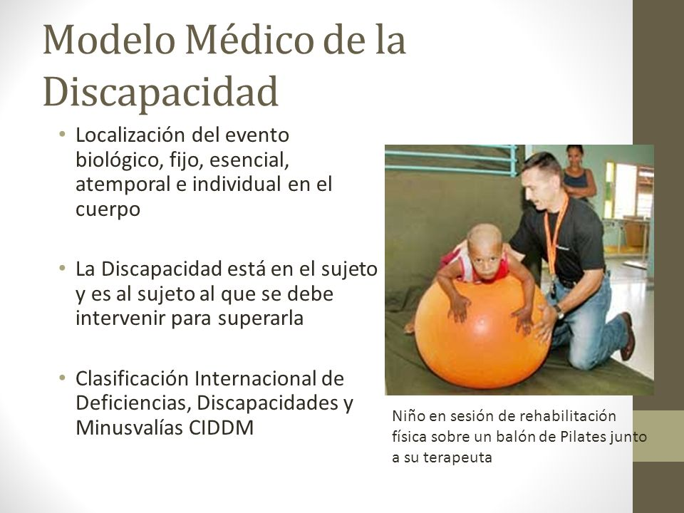 Modelo Médico de la Discapacidad