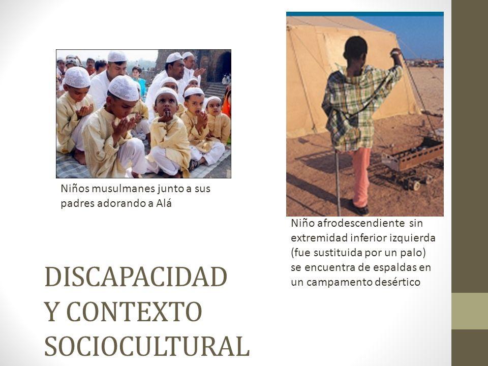 DISCAPACIDAD Y CONTEXTO SOCIOCULTURAL