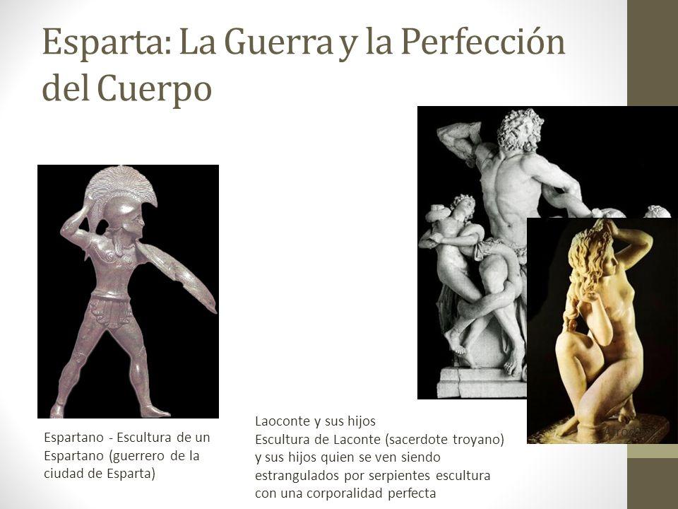 Esparta: La Guerra y la Perfección del Cuerpo