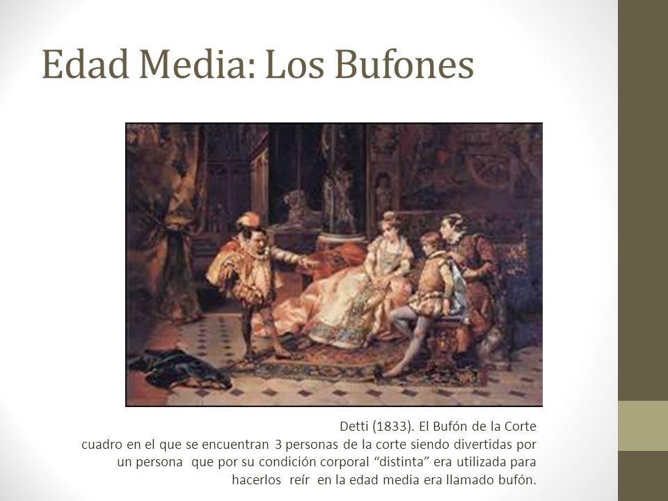 Edad Media: Los Bufones