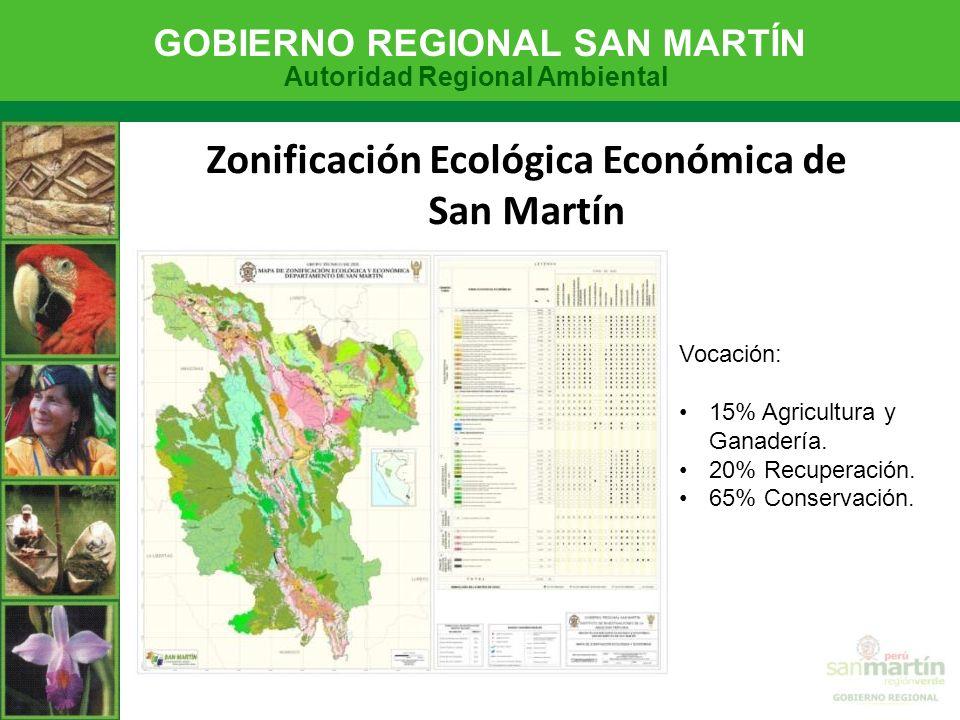 Zonificación Ecológica Económica de San Martín