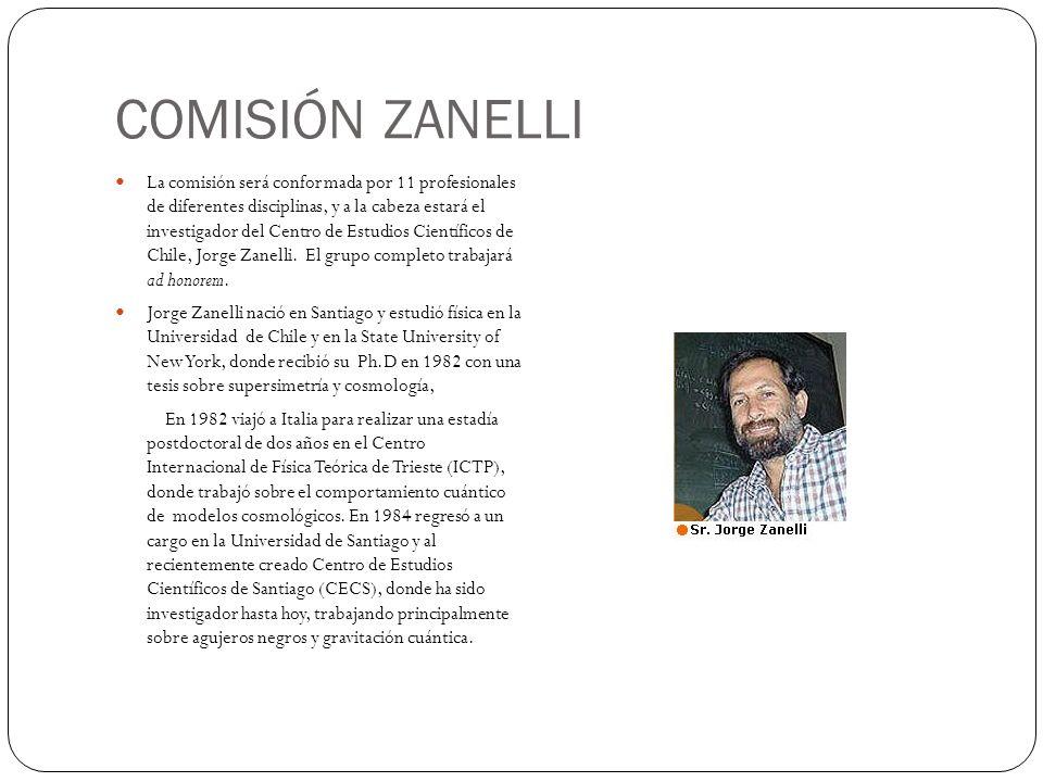 COMISIÓN ZANELLI