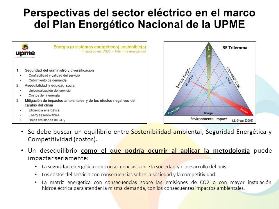 Perspectivas del sector eléctrico en el marco del Plan Energético Nacional de la UPME