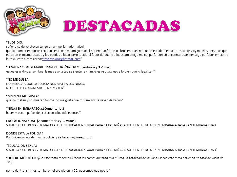 DESTACADAS