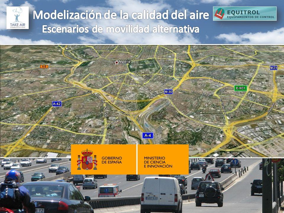 Modelización de la calidad del aire Escenarios de movilidad alternativa